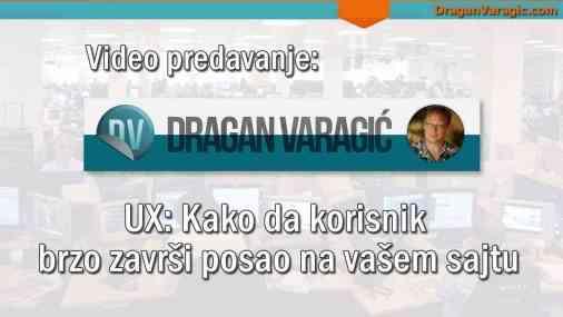UX – Kako da korisnik brzo završi posao na vašem sajtu