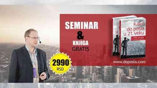 seminar kako do bolje placenog posla